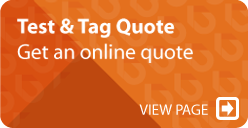 Test and Tag Online Quote